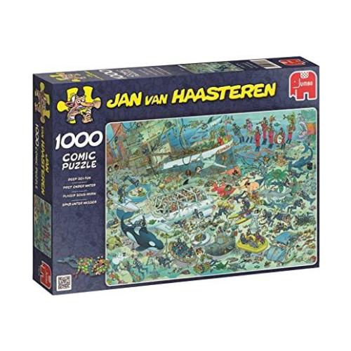 JVH púsl 1000 - deep sea fun