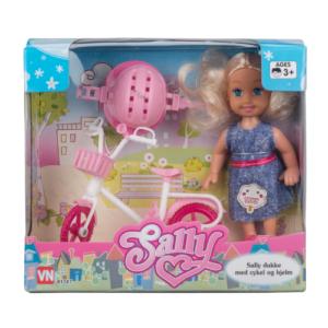 Sally með hjól