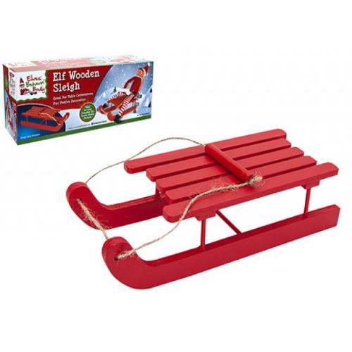 Elf on the shelf sleði