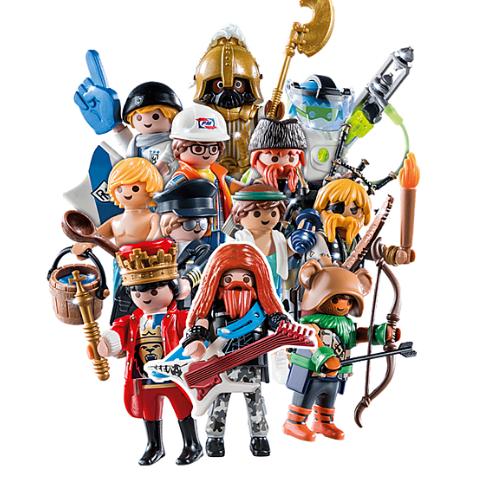 Playmobil minifigures