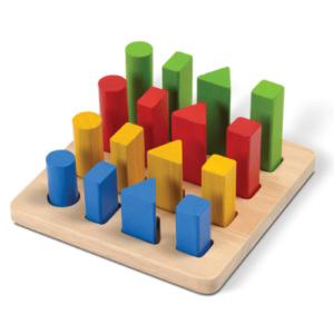 Plan toys gemetric peg board