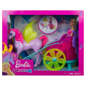 Barbie hestvagn