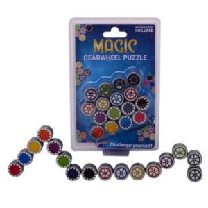 Magic Gearwheel puzzle