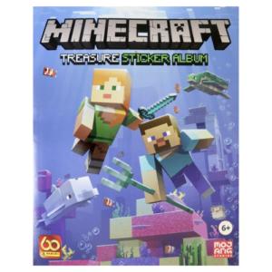 Minecraft límmiðabók